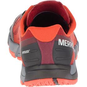 Merrell M's Bare Access Flex E-Mesh Shoes Spicy Orange